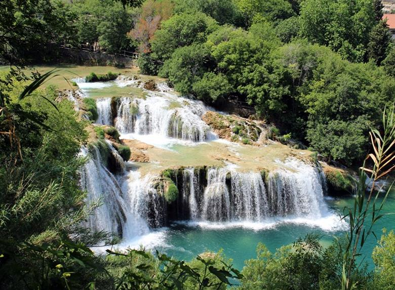 Visit National Park Krka Waterfalls from Split and Trogir