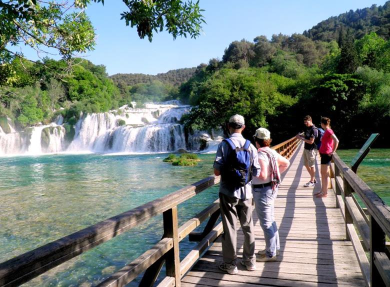 National Park Krka: The Magnificent Skradinski Buk half day tour from Vodice and from Šibenik
