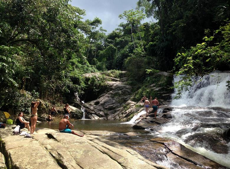 Waterfall Jungle Safari Jeep Tour from Paraty