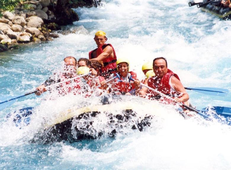 Rafting on White Water from Antalya