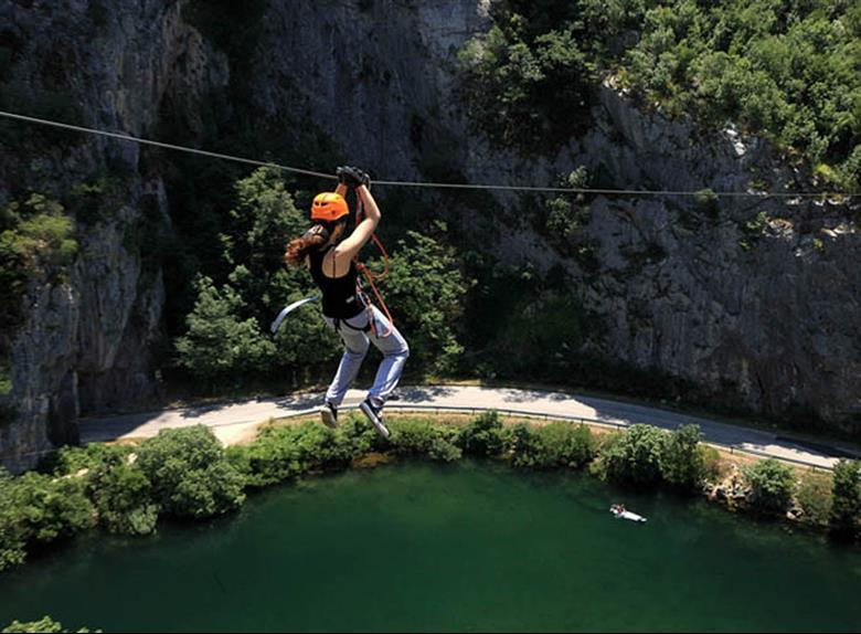 Experience adrenaline with Zipline