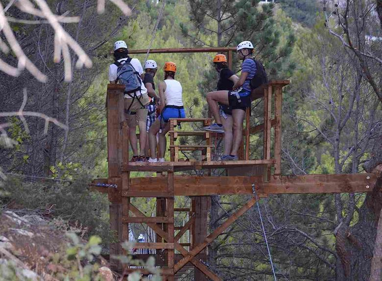 Zipline Experience over Kozjak Mountain from Split