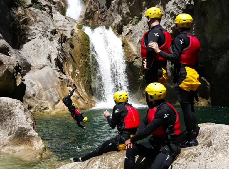 Half Day Canyoning on the River Cetina from Split