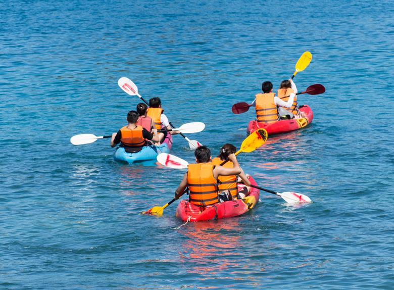 Sunset Sea Kayaking Tour in Porec
