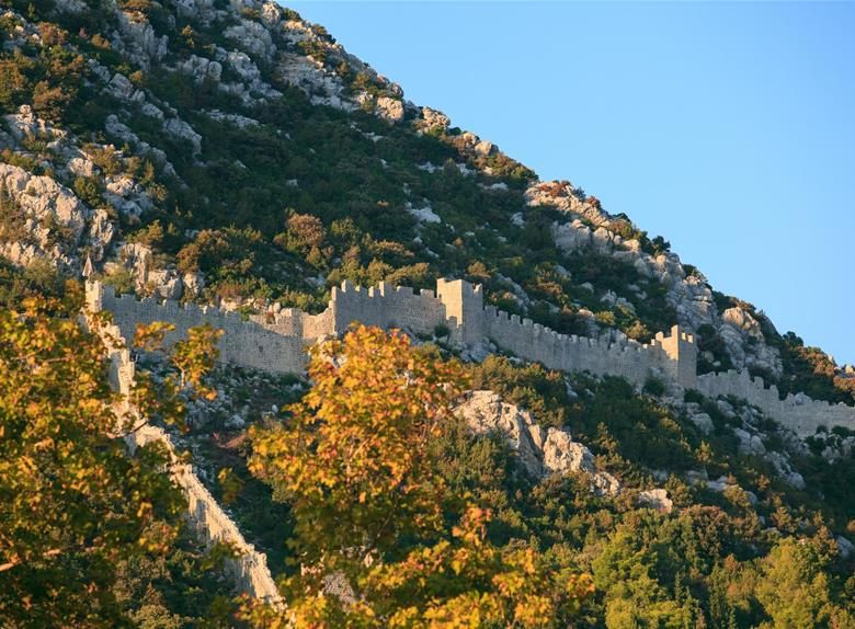 Visit the city of Ston on the Peljesac peninsula
