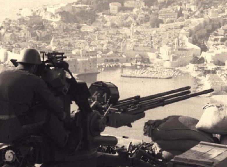 Walk Through A Story About The War In Dubrovnik